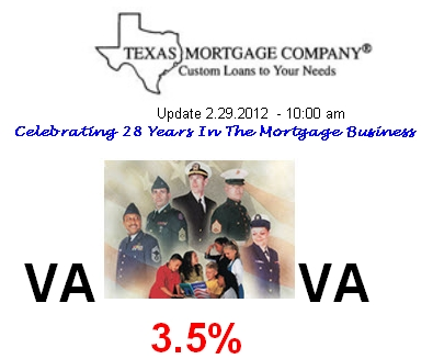 Texas Mortgage Company  - VA Loans